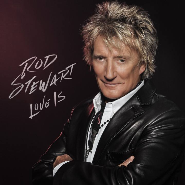 Rod Stewart Love Is Cover