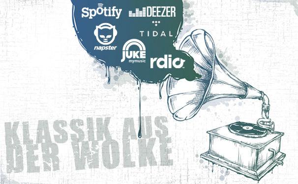 Diverse Künstler, Strom auf- und Strom abwärts – Die Musikstreamingdienste Spotify, Napster, Google Play, JUKE, Rdio und rara