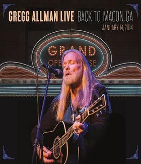 Gregg Allman, Gregg Allman Live: Back To Macon, GA, 00888072375185