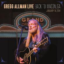 Gregg Allman, Gregg Allman Live: Back To Macon, GA, 00888072375161