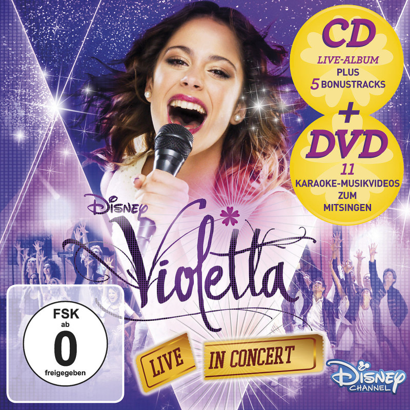 Violetta: Live In Concert (CD+DVD) (Staffel 2, Vol. 2)
