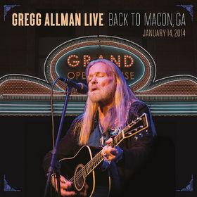 Gregg Allman, Gregg Allman Live: Back To Macon, GA, 00888072377066