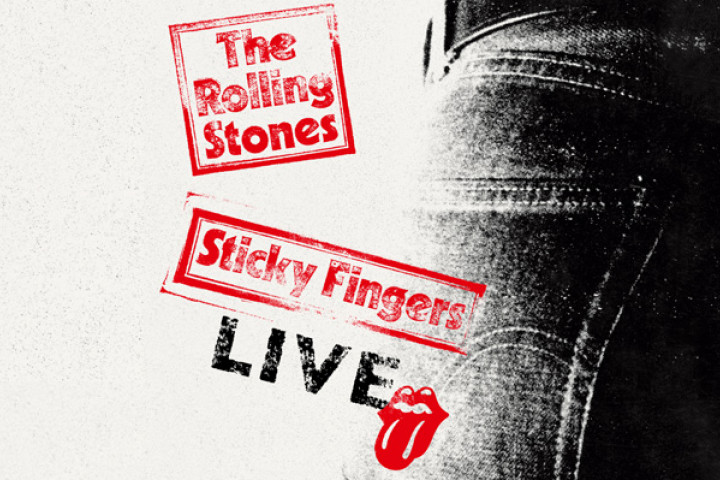 The Rolling Stones - Sticky Fingers Live Packshot