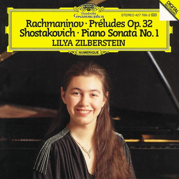 Rachmaninov: Preludes Op. 32; Shostakovich: Piano Sonata No. 1