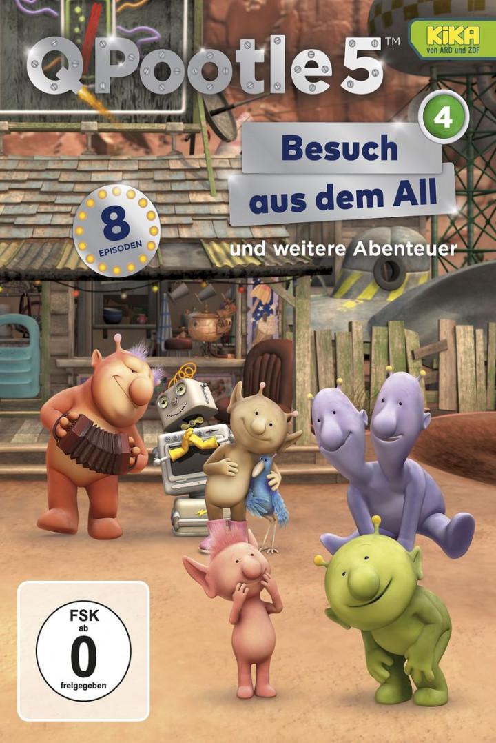 Besuch aus dem All (DVD 4, Folge 25-32)