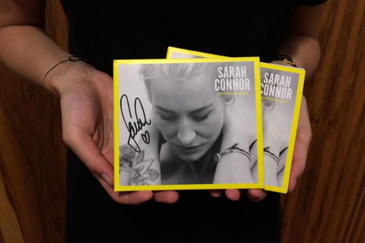 """Sarah Connor Gewinnspiel """"Muttersprache"""", Juli 2015"""