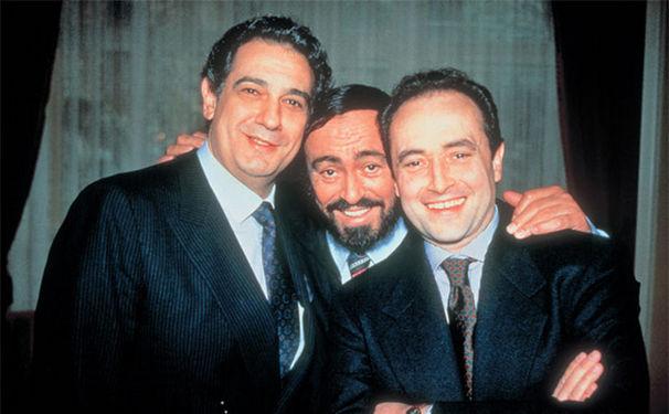 Luciano Pavarotti, Unvergesslich! Die drei Tenöre feiern ihr 25. Jubiläum
