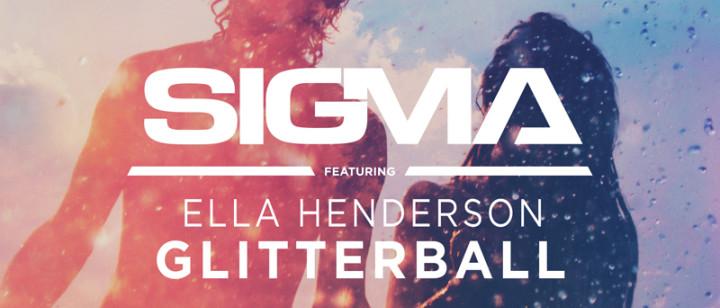 "Sigma feat. Ella Henderson Single Cover ""Glitterball"" WebFormat"
