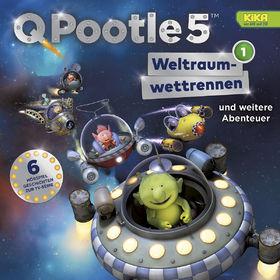 Q Pootle 5, 01: Weltraumwettrennen und weitere Abenteuer (TV-Hörspiel), 00602547194657