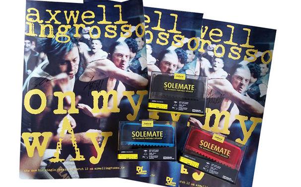 Axwell /\ Ingrosso, Mit Axwell /\ Ingrosso in den Sommer starten: Gewinnt signierte Poster und coole Lautsprecher-Boxen von Jabra