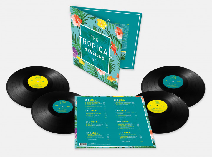 Tropical Sessions - 4er LP UMG Cover