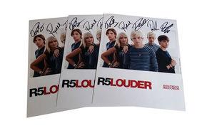 R5, Zur Feier der Sometime Last Night Album-Veröffentlichung: Gewinnt handsignierte R5 Autogrammkarten