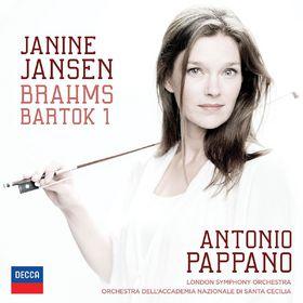 Janine Jansen, Brahms: Violin Concerto; Bartok: Violin Concerto No.1, 00028947884125