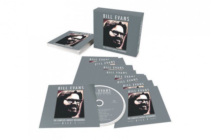 "Bill Evans - ""The Complete Fantasy Recordings"" CD-Box"