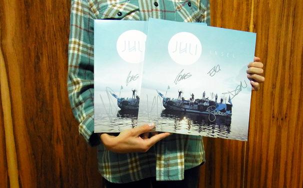 Juli, Mit Juli zurück auf die Insel: Gewinnt signierte Vinyls des aktuellen Albums