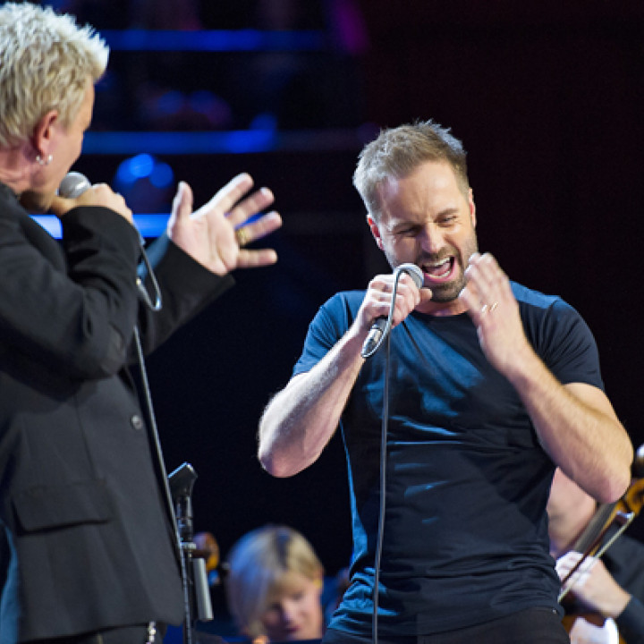 Billy Idol, Alfie Boe, The Royal Philharmonic Orchestra