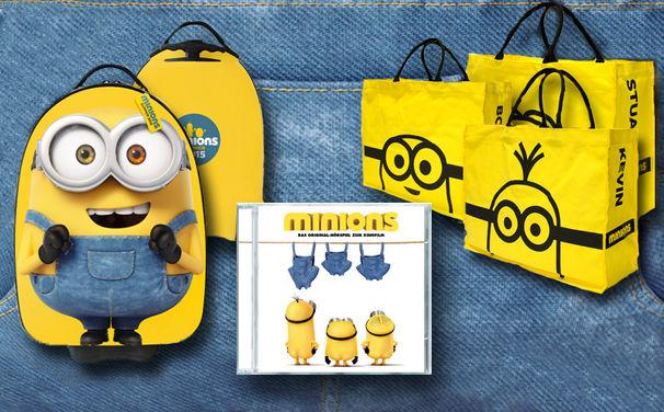 Minions, Mit den Minions in die Ferien – Gewinnt eins von sieben tollen Fanpaketen!