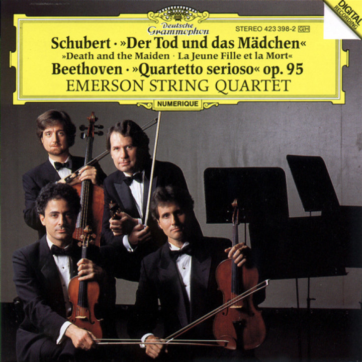 "Schubert: ""Death and the Maiden"" / Beethoven: ""Quartetto serioso"""