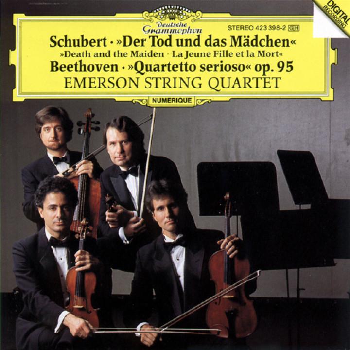 "Schubert: ""Death and the Maiden"" / Beethoven: ""Quartetto serioso"""