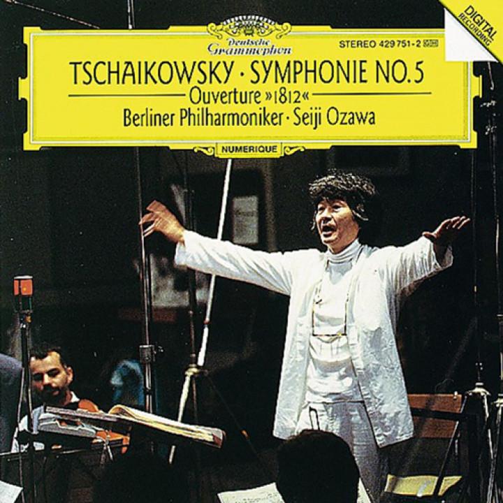 """Tchaikovsky: Symphony No.5; Overture solennelle """"1812"""""""