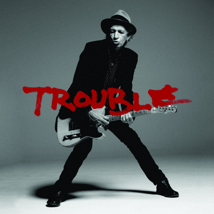 Keith Richards Trouble Cover
