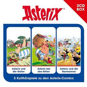 Asterix, Asterix - 3-CD Hörspielbox Vol. 3, 00602547446619