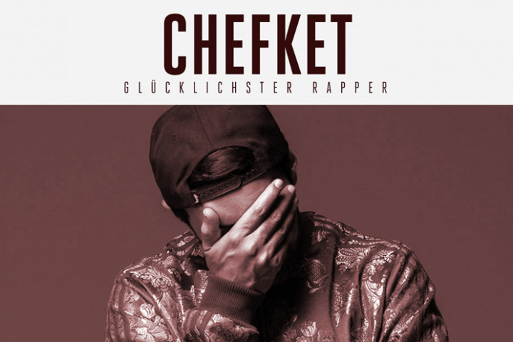 "Chefket Single Cover ""Glücklichster Rapper"" WebFormat"