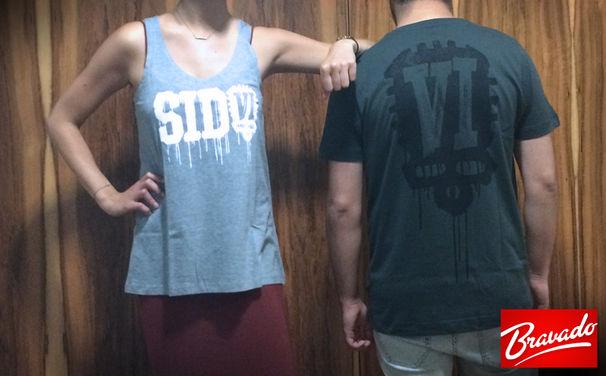 Sido, Zum Release von VI: Gewinnt jetzt coole Shirts und Tanktops aus dem Bravado Fanshop von Sido