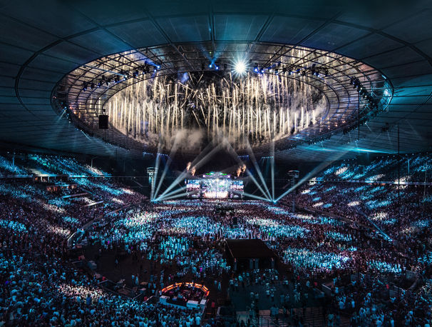 Helene Fischer, Helene Fischer Pressebild Farbenspiel Live - Die Stadion-Tournee 2015