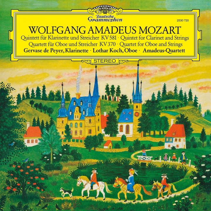 Mozart, W.A.: Clarinet Quintet In K, K.581; Oboe Quartet In F, K.370
