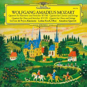 Diverse Künstler, Mozart: Klarinettenquintett/Oboenquartett, 00028947951193