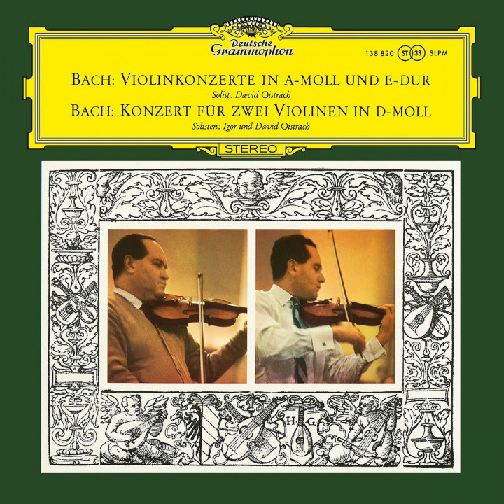 Bach, J.S.: Violin Concertos Nos. 1 & 2, BWV 1041 & 1042; Concerto For 2 Violins, Strings And Continuo In D Minor, BWV 1043