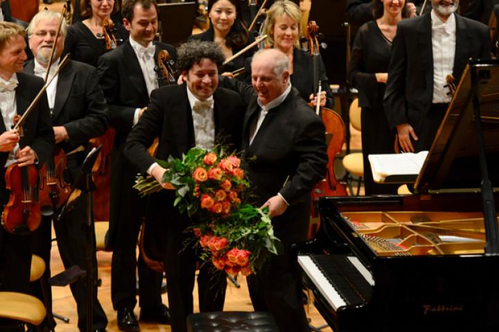 Gustavo Dudamel, Daniel Barenboim