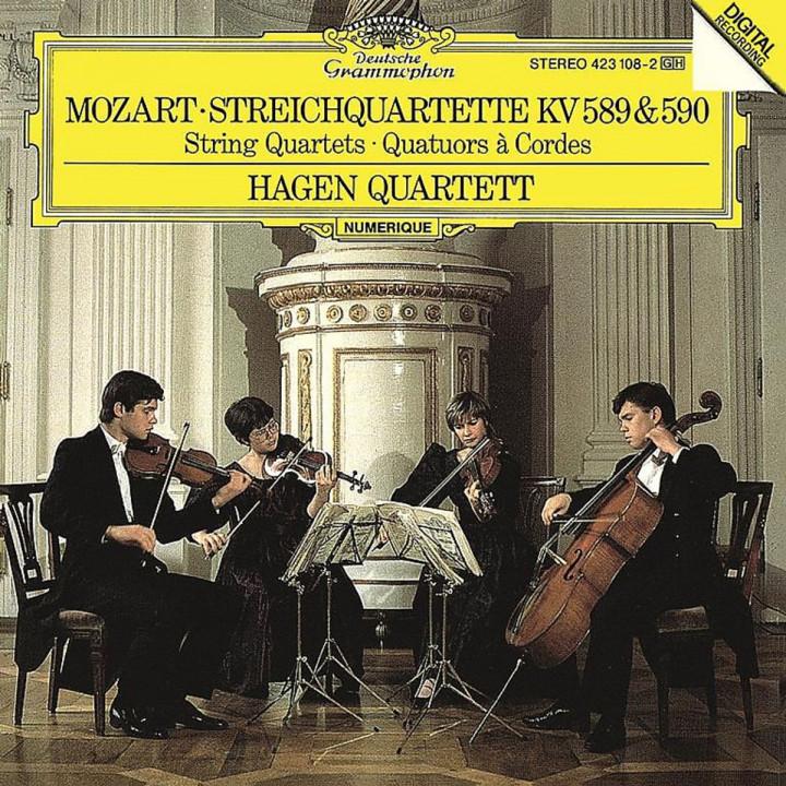 Mozart: String Quartets KV 589 & 590