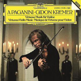 Gidon Kremer, A Paganini - Virtuoso Violin Music, 00028941548429