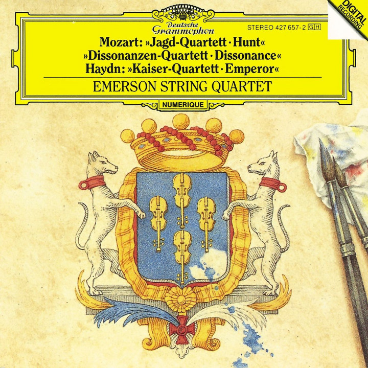 Mozart: String Quartets Hunt & Dissonances / Haydn: String Quartet Emperor