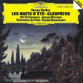 Kiri Te Kanawa, Berlioz: Les nuits d'été; Cléopatre, 00028941096623