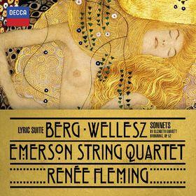 Emerson String Quartet, Berg: Lyric Suite/Wellesz: Sonnets, 00028947883999