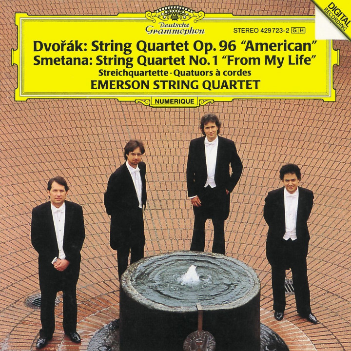Dvorák: String Quartet No.12 American / Smetana: String Quartet No.1 From