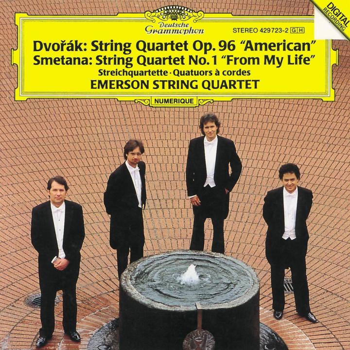 Dvorák: String Quartet No.12 American / Smetana: String Quartet No.1 From