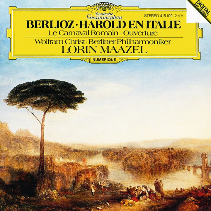 Berlioz: Harold In Italy; Le Carnaval Romain - Overture