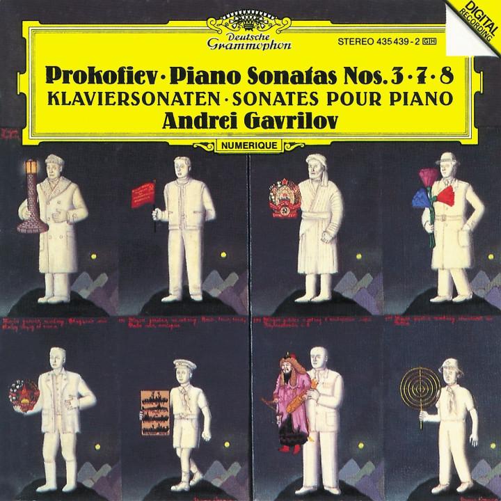 Prokofiev: Piano Sonatas Nos. 3, 7 & 8