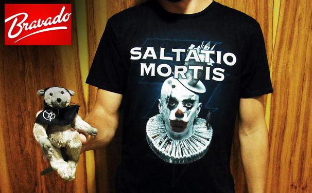Saltatio Mortis, Gewinnt jetzt das süße Bandmaskottchen von Saltatio Mortis sowie ein cooles Shirt zu Zirkus Zeitgeist