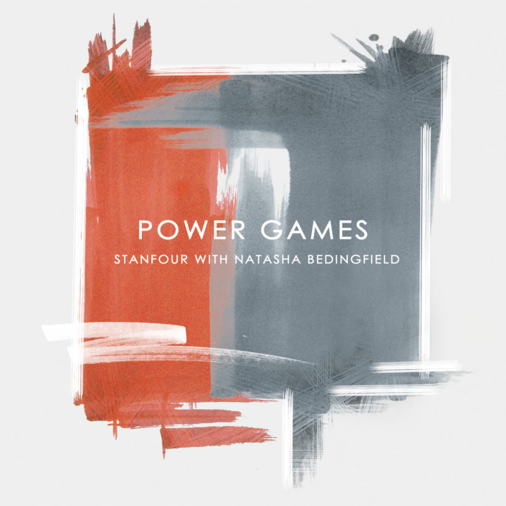 "Stanfour with Natasha Bedingfield Single Cover ""Power Games"""