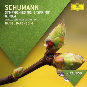 Virtuoso, Schumann: Symphonies Nos. 1 & 4, 00028947889175