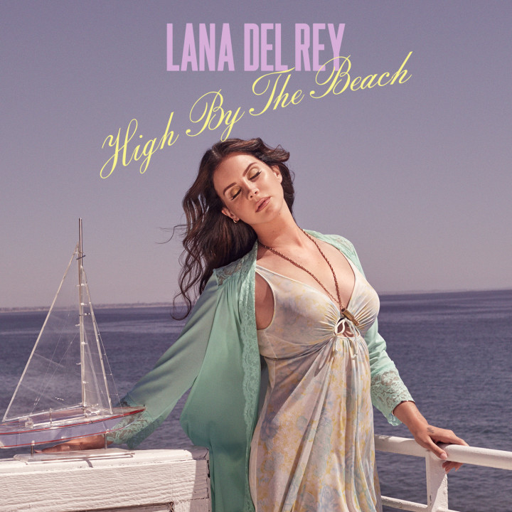 "Lana Del Rey Single Cover ""High By The Beach"""