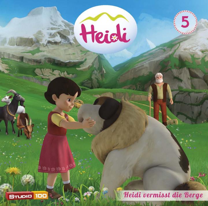 Heidi 05: Heidi vermisst die Berge