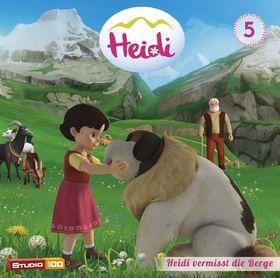 Heidi, 05: Heidi vermisst die Berge u.a. (CGI), 00600753618608