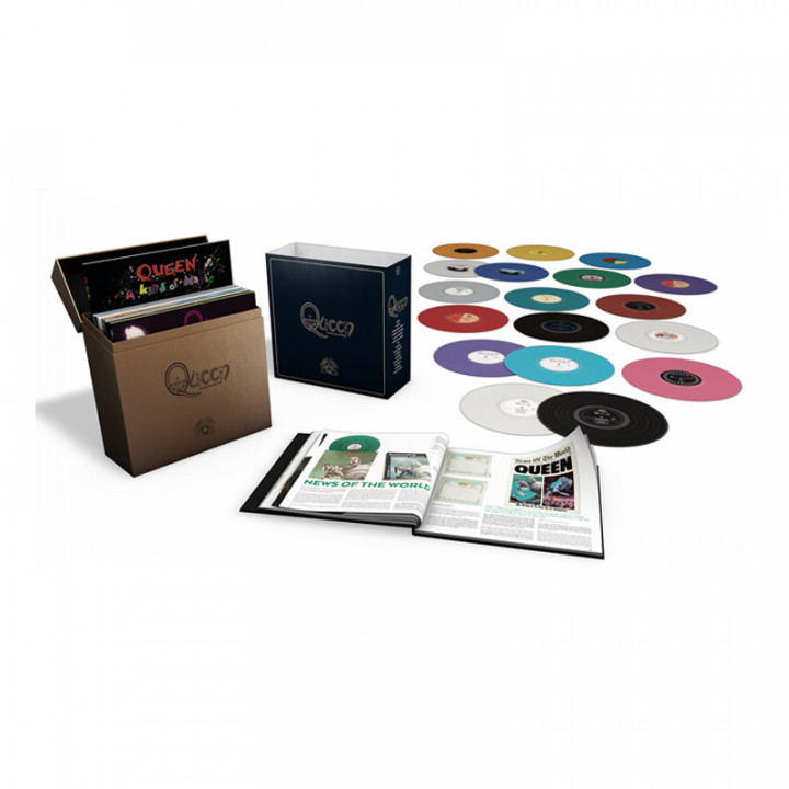 Queen - The Studio Collection Cover