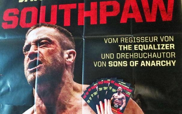 Southpaw Soundtrack, Ab dem 20. August 2015 in den Kinos: Sichert euch Southpaw Freikarten und Riesenposter